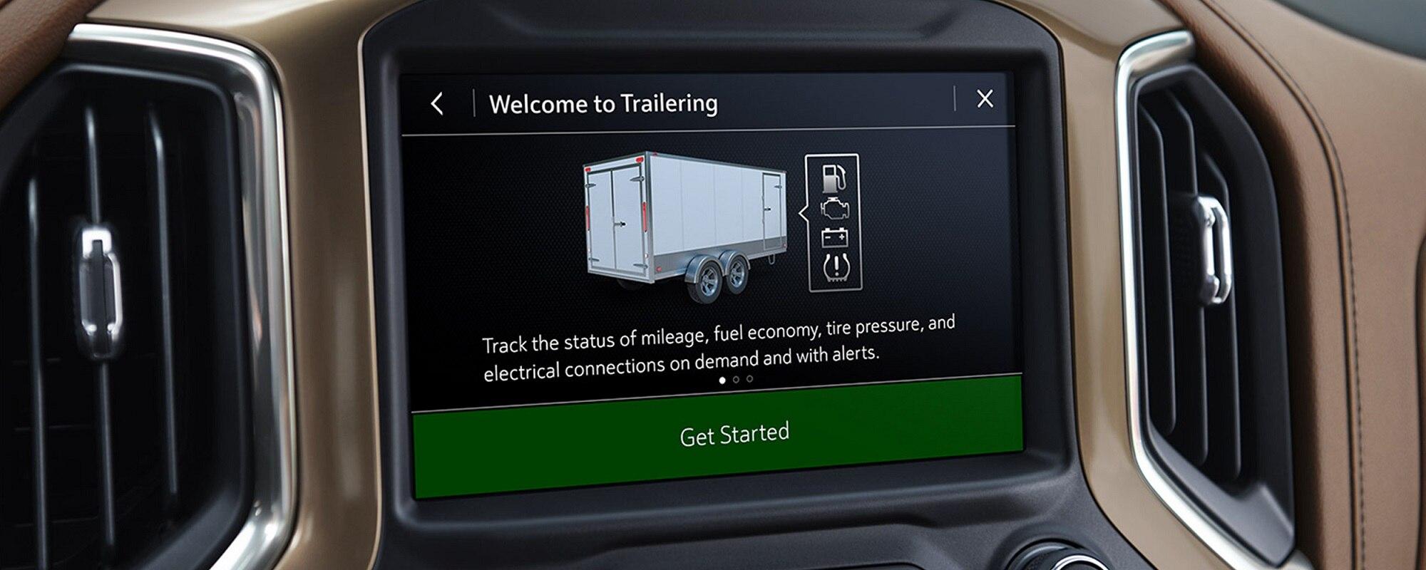 Sistema de remolque integrado en la camioneta Silverado 1500 2019