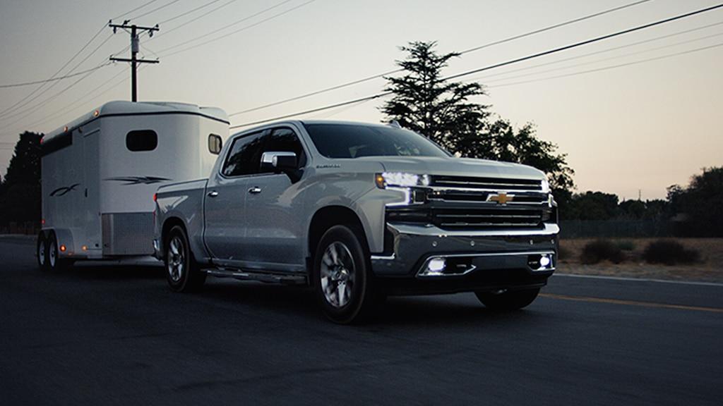 Video del remolque de la camioneta pickup Silverado 1500 2020