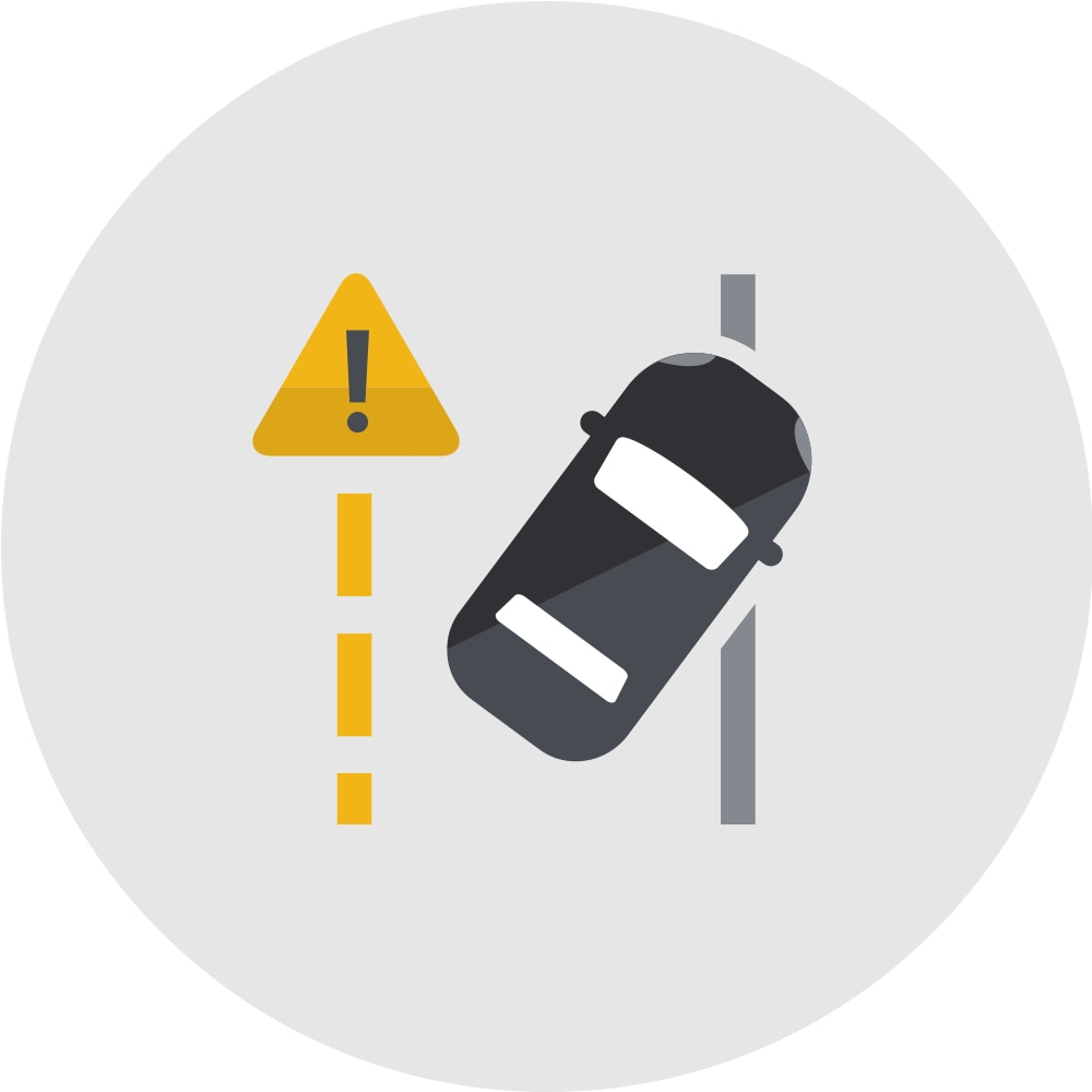 Lane Keep Assist con Lane Departure Warning