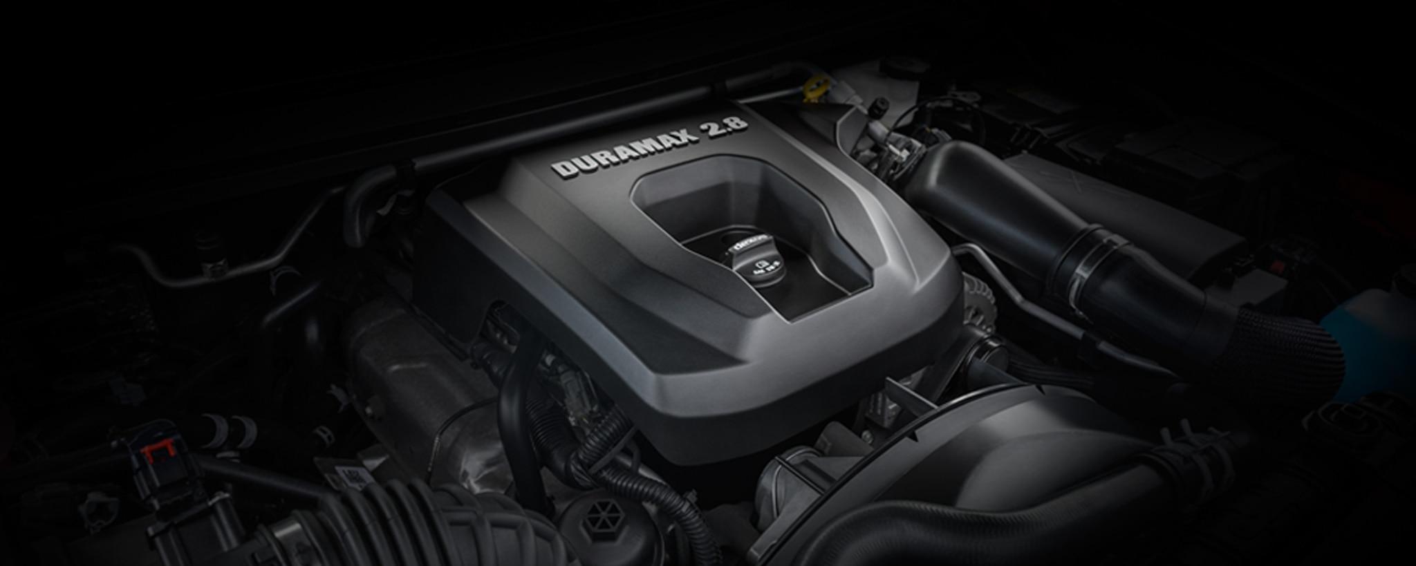 Camioneta comercial de trabajo Colorado 2020: Motor Duramax Turbo-Diesel de 2.8 L