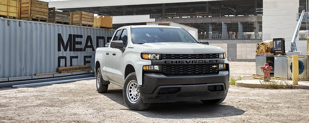 Parrilla frontal de la camioneta comercial de trabajo Silverado LD 2020