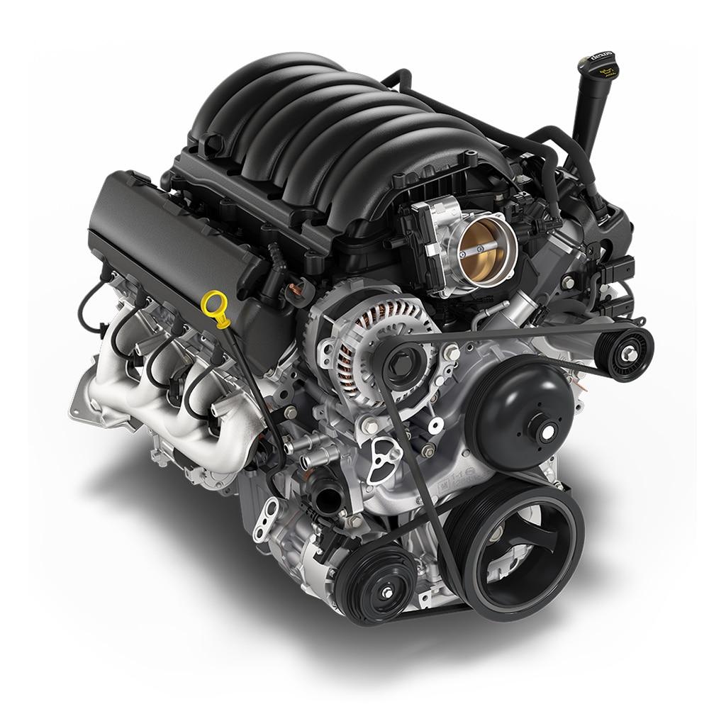 Ícono del motor V8 de 5.3 L