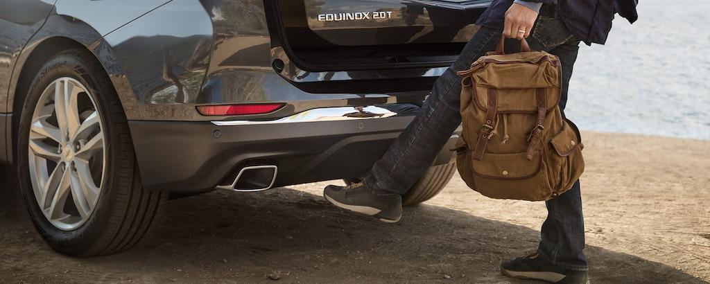 Compuerta trasera manos libres de la SUV compacta Chevrolet Equinox 2020