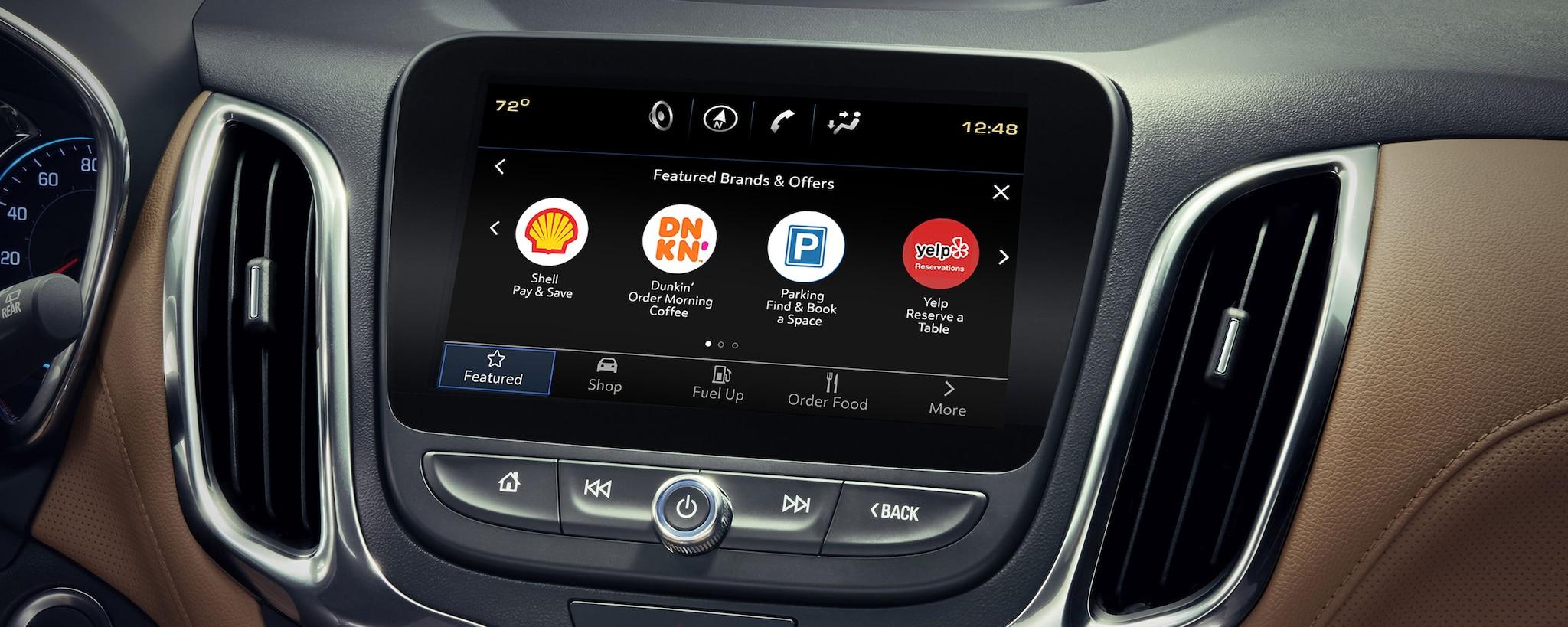 SUV compacta Equinox 2020: Aplicación Marketplace de Chevy