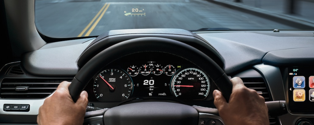 Tecnología de la SUV grande Suburban 2020:  Head Up Display