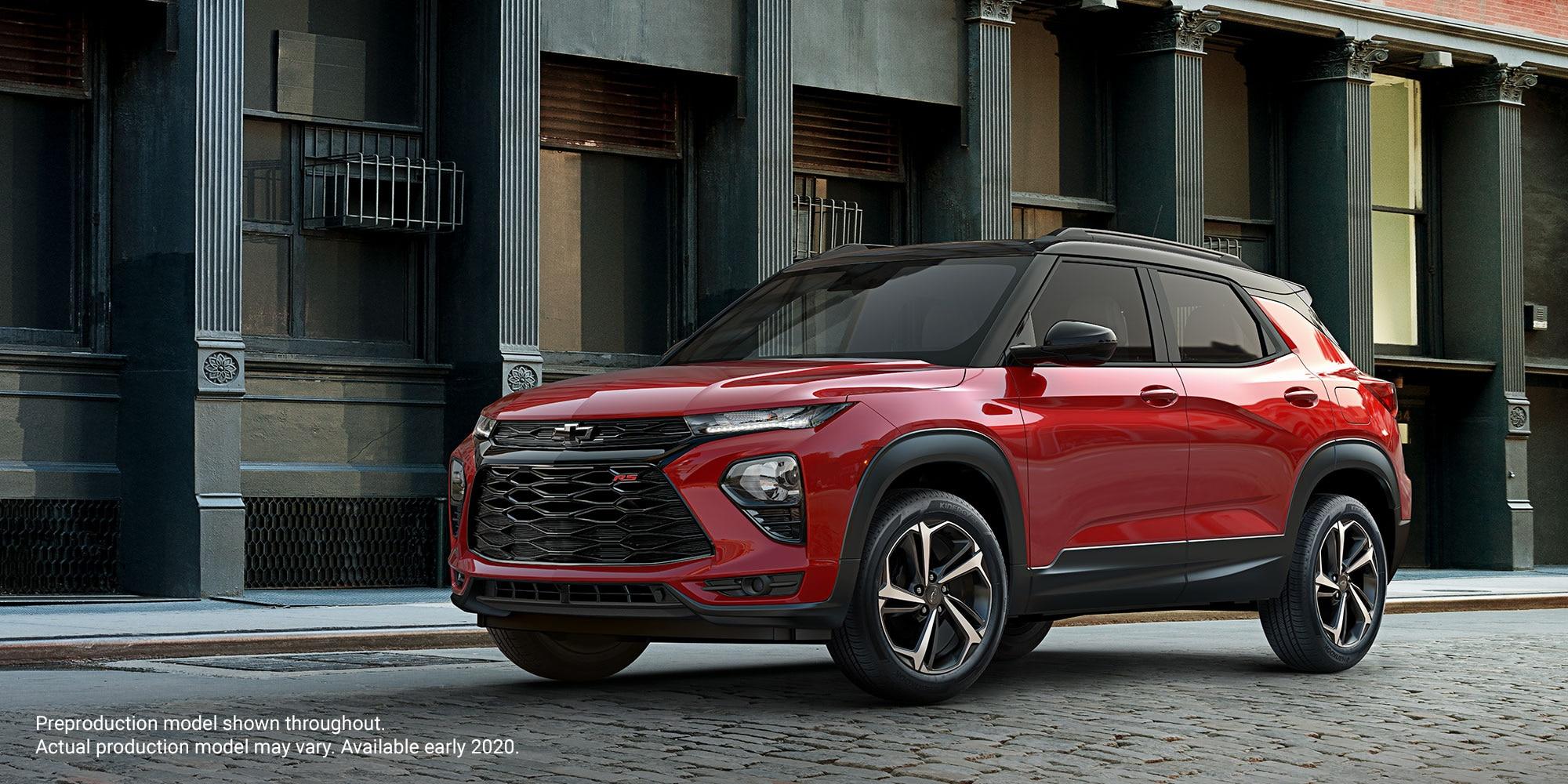 Chevy Trailblazer 2021 totalmente nueva: Nueva SUV compacta