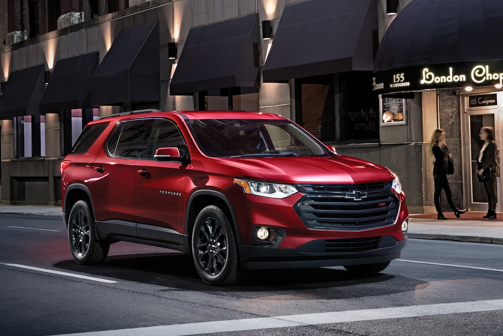 SUV de tamaño mediano Chevrolet Traverse RS Edition 2020
