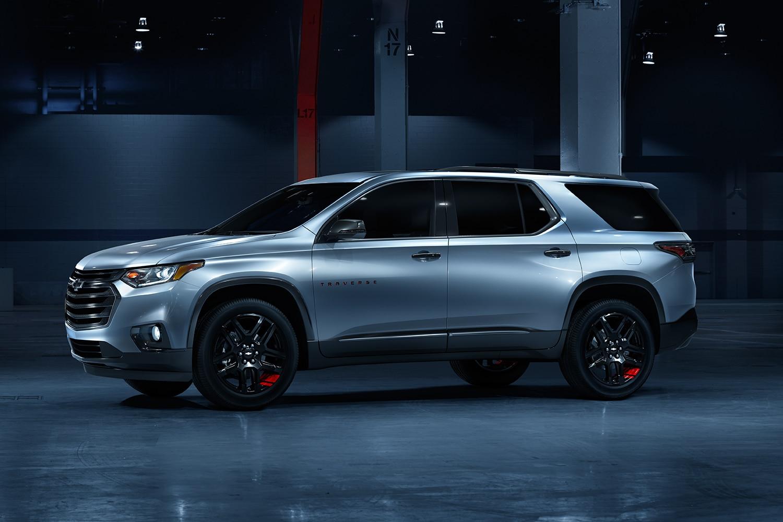 SUV de tamaño mediano Chevrolet Traverse Redline Edition 2020