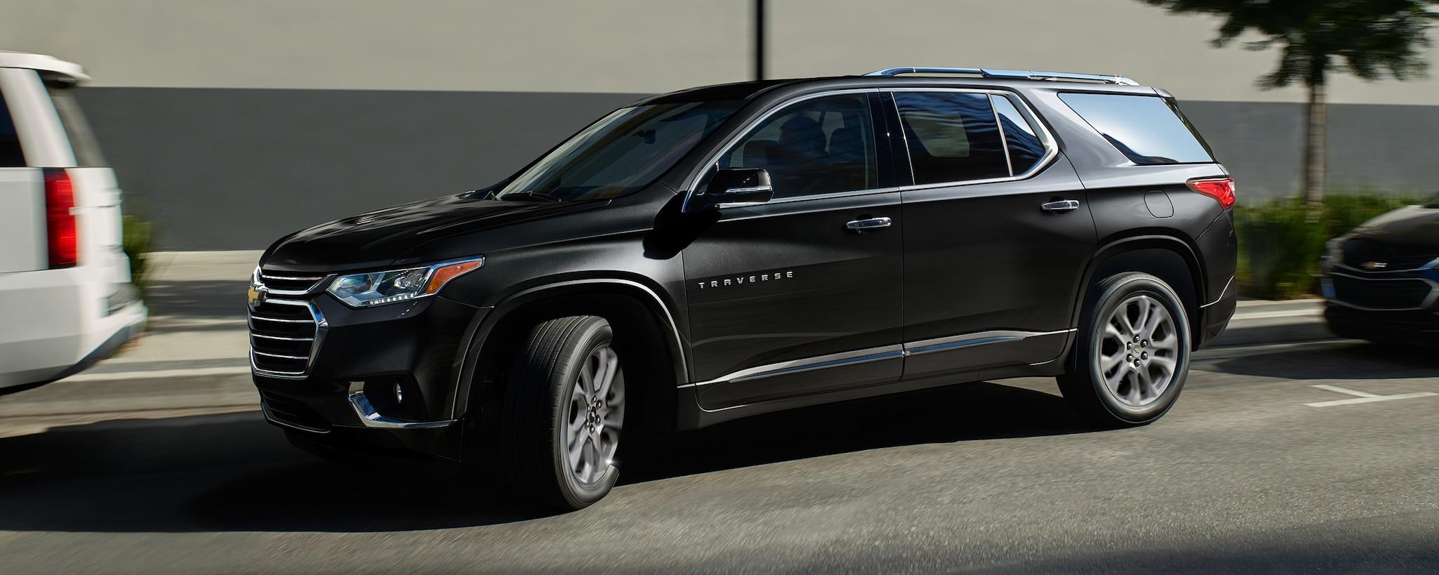 Seguridad de la SUV de tamaño mediano Traverse 2020: Perfil lateral