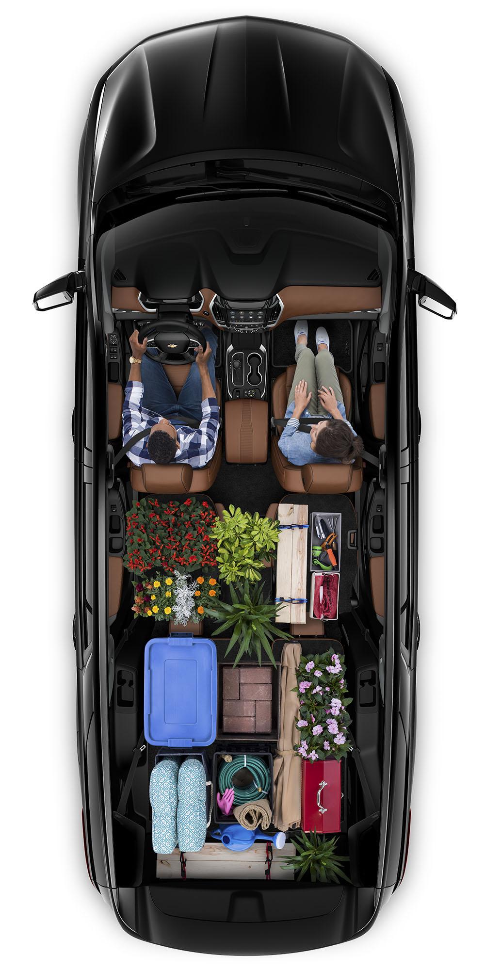 Carga de la Chevrolet Traverse 2020