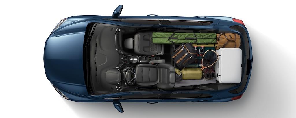Carga de la SUV Trax 2020 compacta: Casa rodante