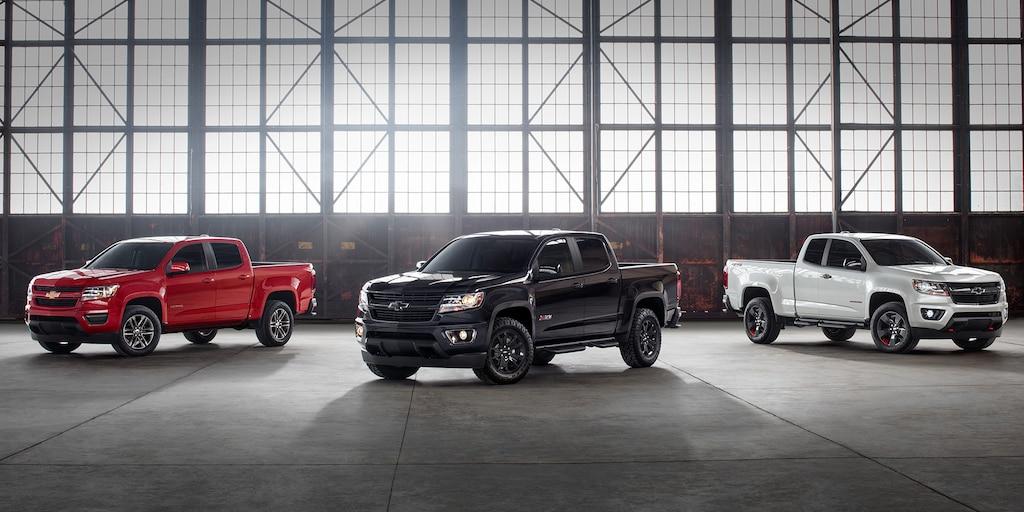 Gama de ediciones especiales de la camioneta de tamaño mediano Chevrolet Colorado 2020