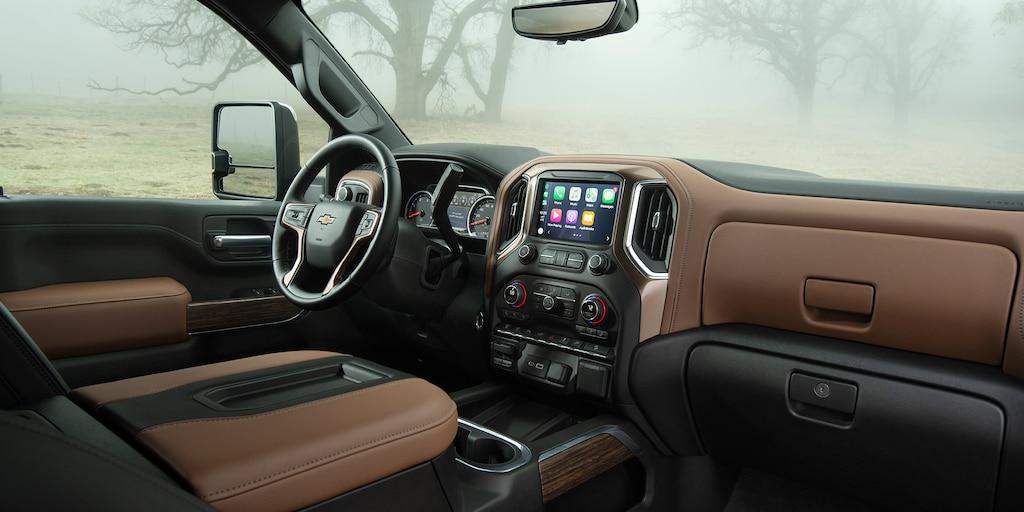 Silverado HD 2020 totalmente nueva: Interior