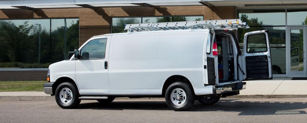 Van Chevy Express Cargo 2021