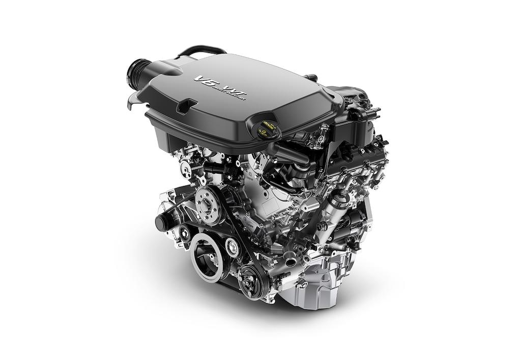 Motor V6 DOHC de 3.L con VVT