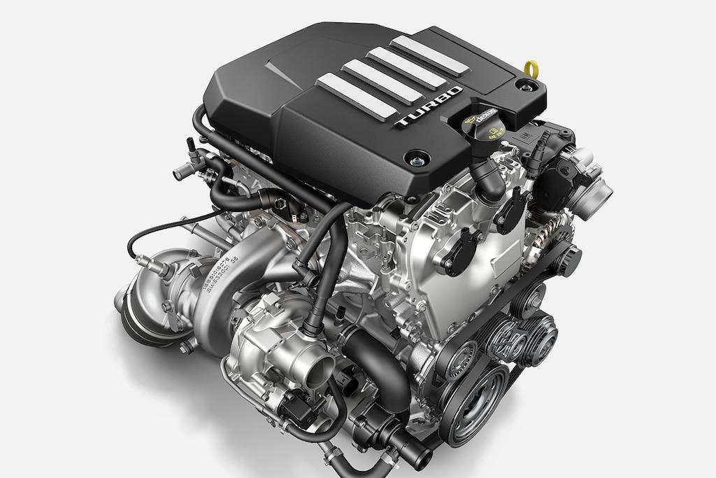Motor de la Silverado LD 2021 comercial