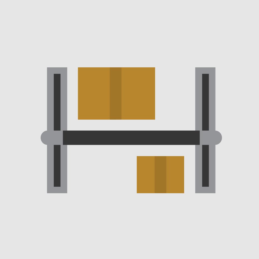 Icono de sistema de rieles