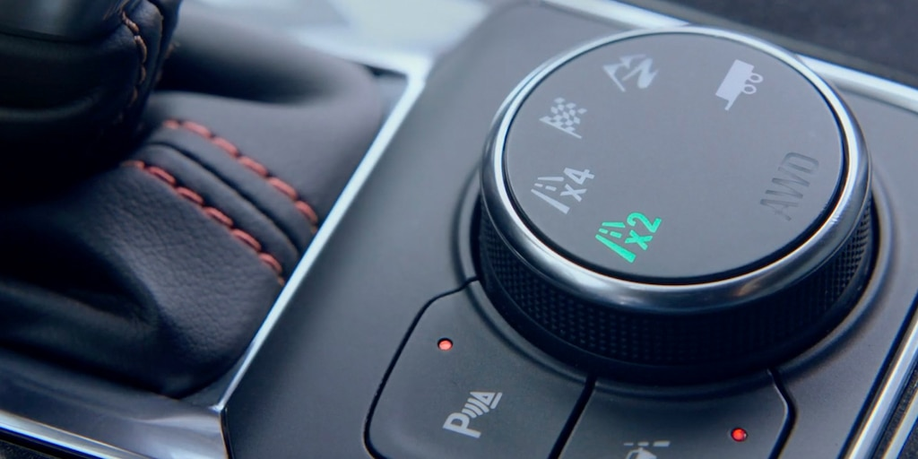 SUV deportiva Chevy Blazer 2021: Dial deTraction Mode Select