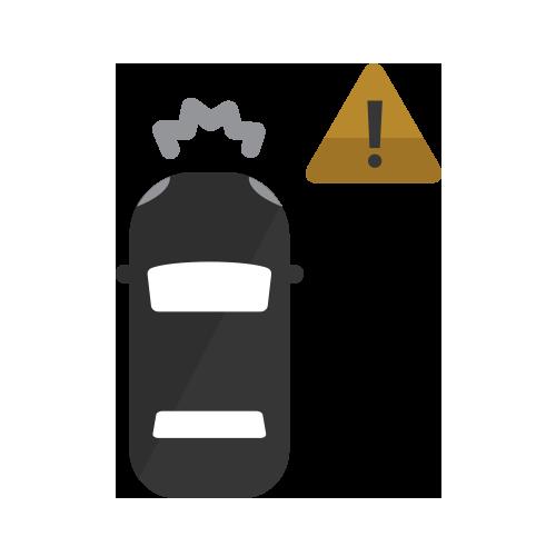 Selección de ícono deForward Collision Alert y frenado de emergencia automático