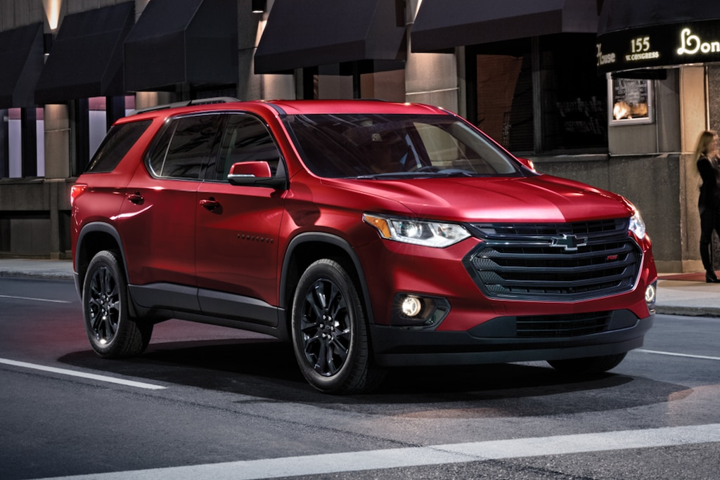 Chevy Traverse RS Edition2021
