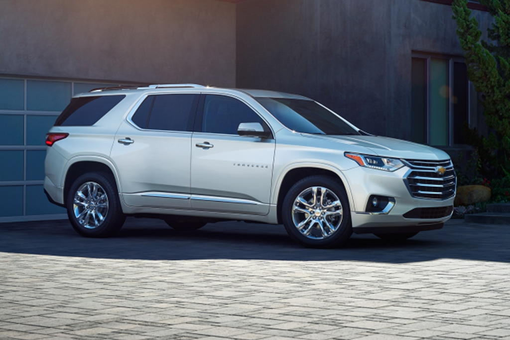 Chevy Traverse 2021 High Country Edition