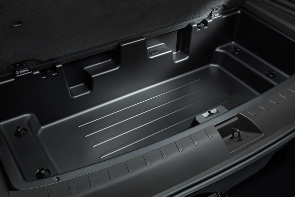 Chevy Traverse 2021: Almacenamiento oculto