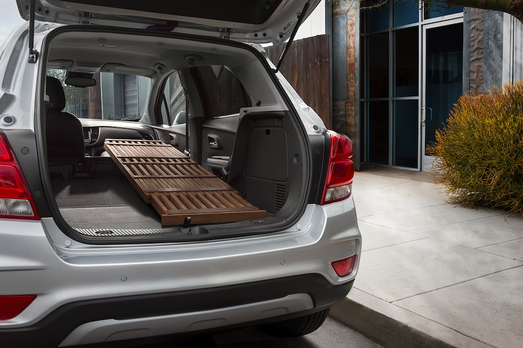 Volumen de carga de la Chevy Trax 2021