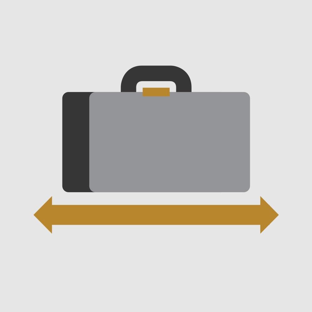 Icono de Largo de carga