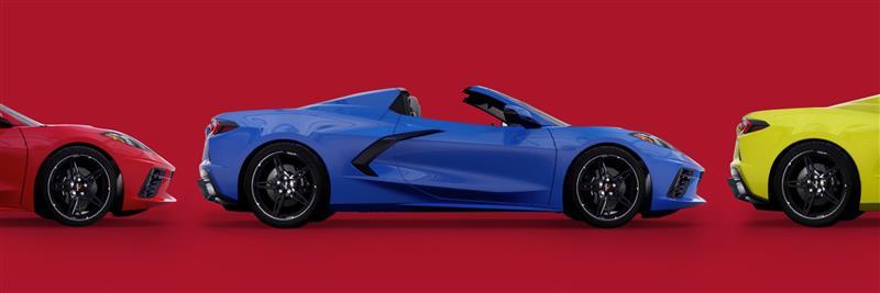 Visualizador de Chevrolet Corvette 2021