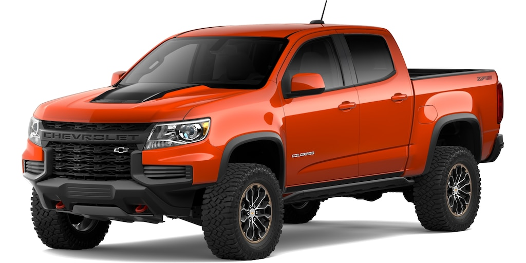 Chevrolet Colorado 2021 en Crush