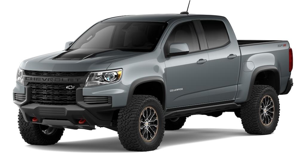 Chevrolet Colorado 2021 en Acero Metálico Satinado