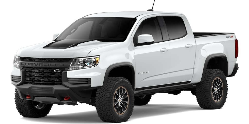 Chevrolet Colorado 2021 en Blanco Nevado