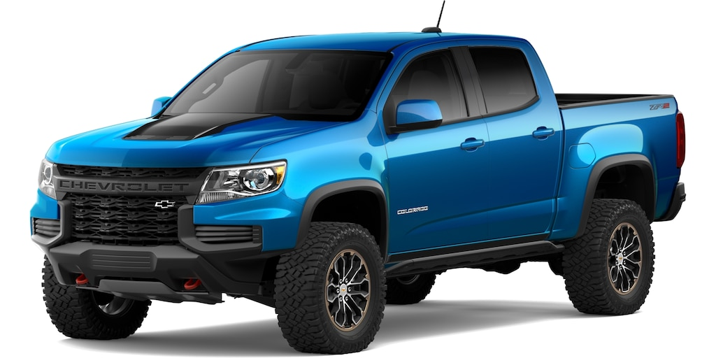 Chevrolet Colorado 2021 en Azul Brillante Metálico