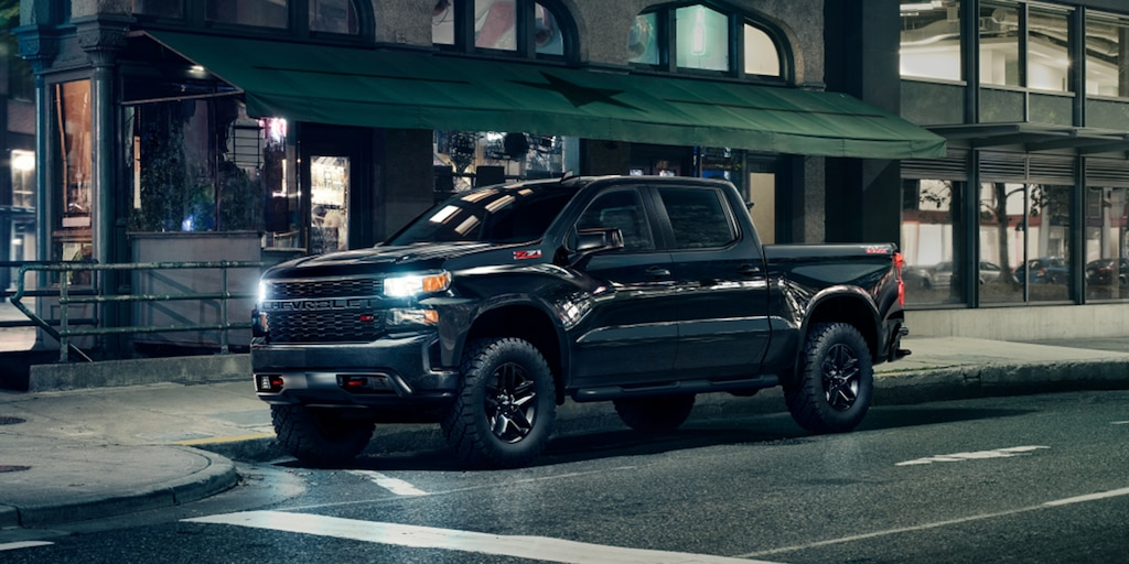 Silverado Custom Trail Boss Midnight 2021