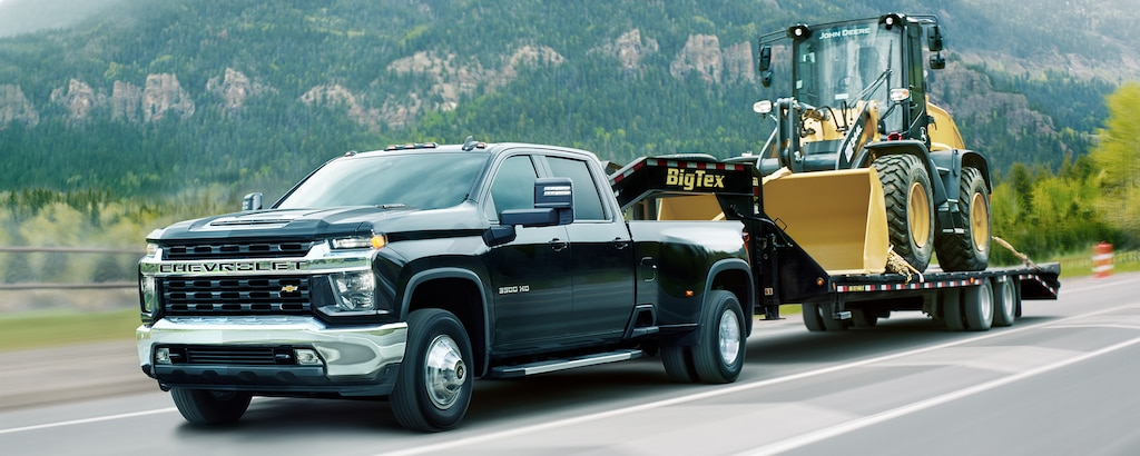 Capacidad de la camioneta de trabajo comercial Silverado HD 2022: Remolque de avanzada