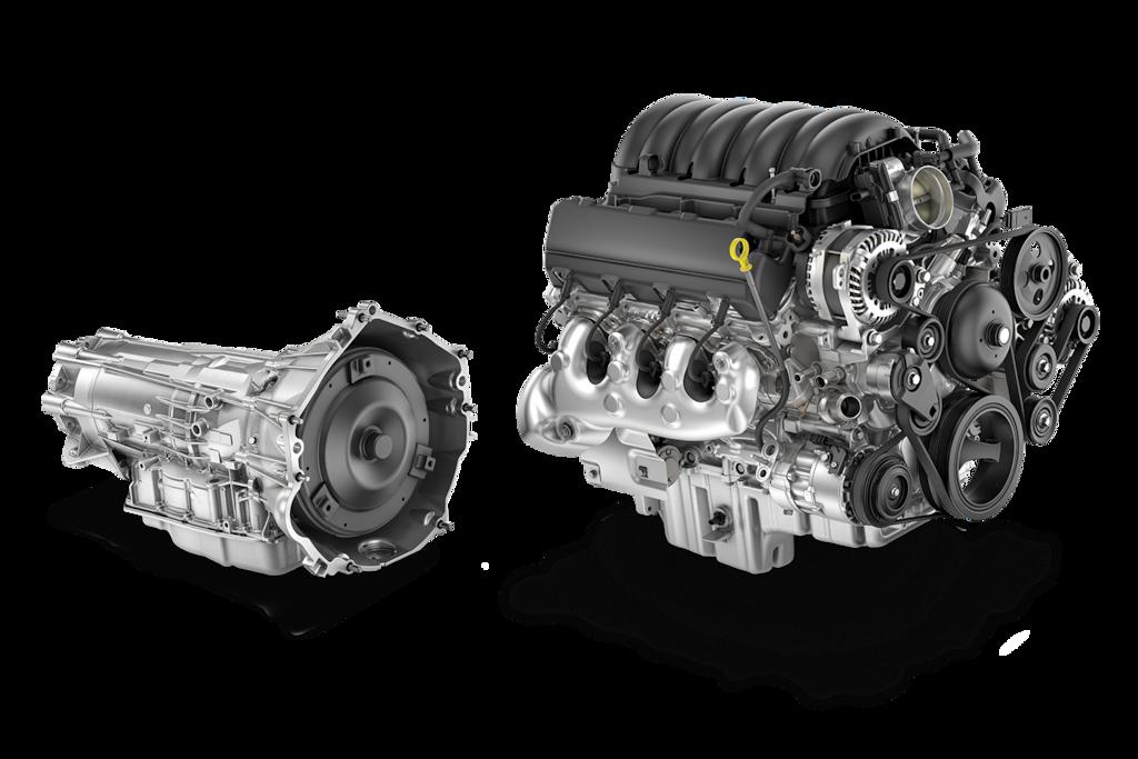 CamionetaChevy Silverado HD2022: motor y transmisión