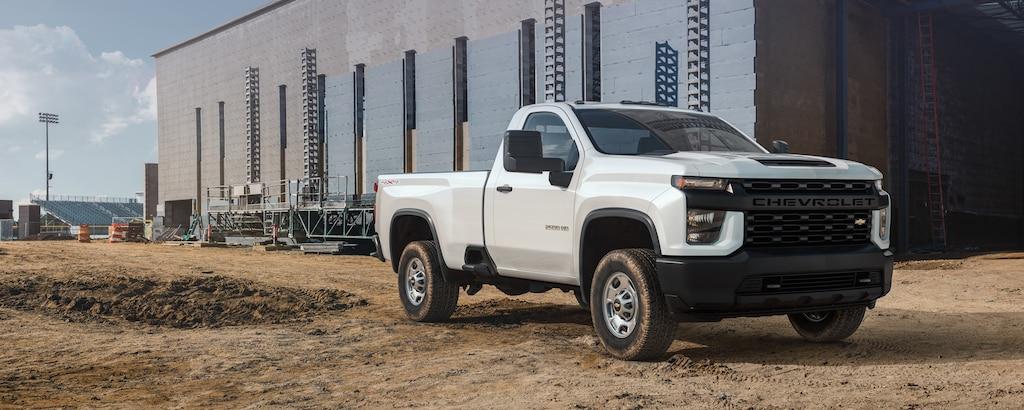 Camioneta comercial de trabajo Silverado HD 2022