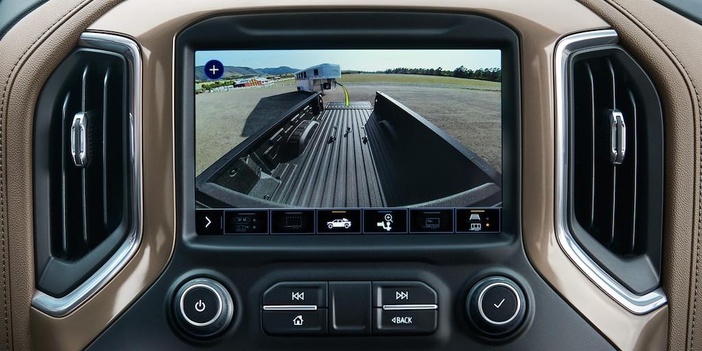 Chevy Silverado 2022: vista de cámara