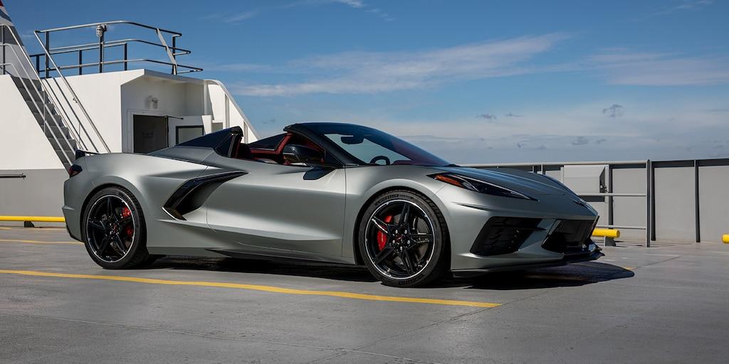 Auto deportivo Chevrolet Corvette 2022