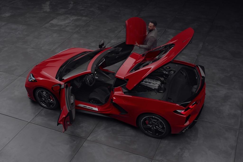 Imagen superior del Chevrolet Corvette 2022