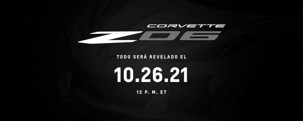 Corvette Z06: Sintoniza el 10.26.21 a las 12 p. m., ET