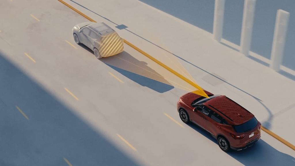 Video de Lane Keep Assist con Lane Departure Warning en la Blazer