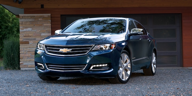Auto de tamaño completo Chevrolet Impala 2018