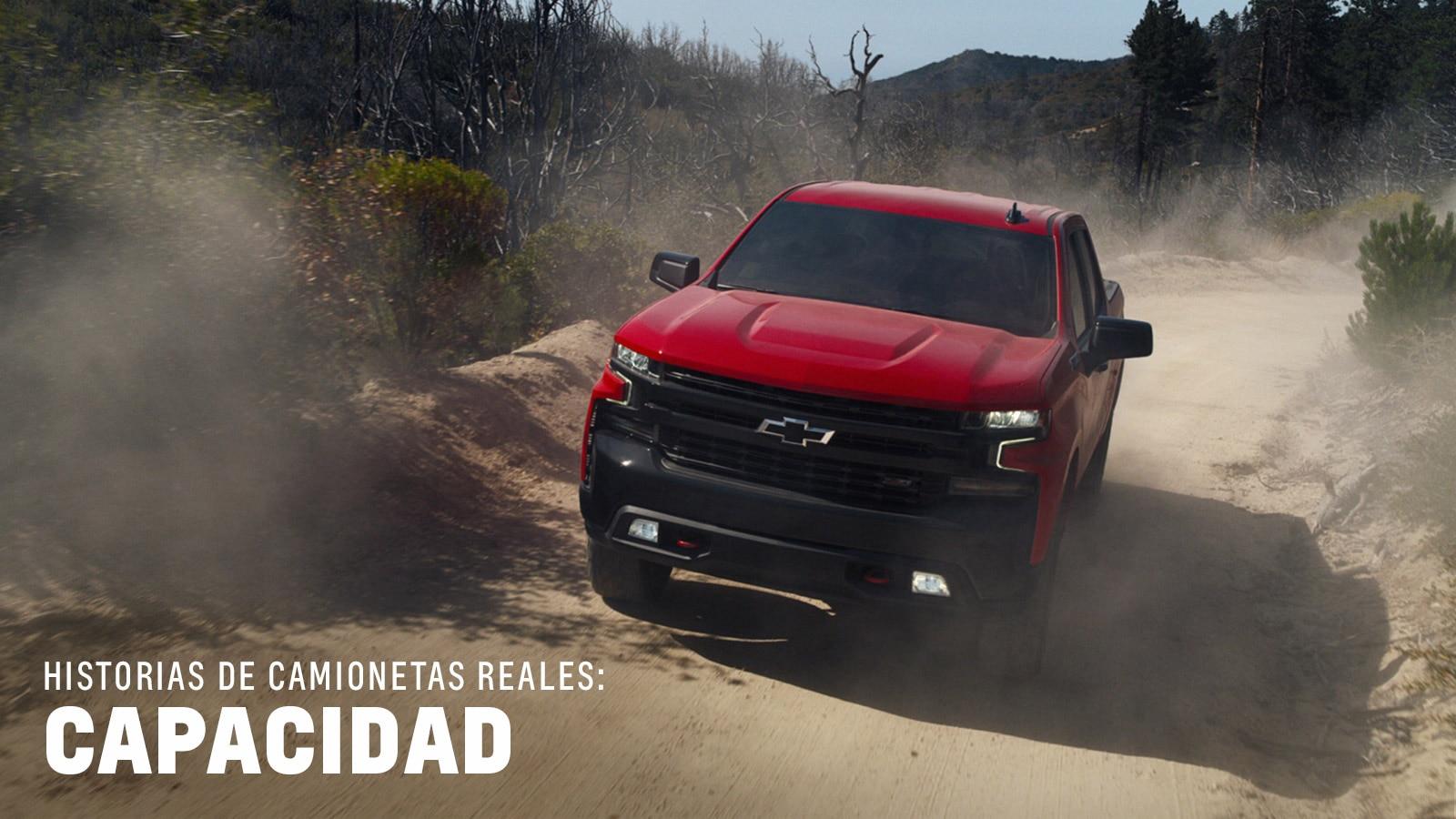 Video del desempeño de la camioneta Silverado 1500 2019