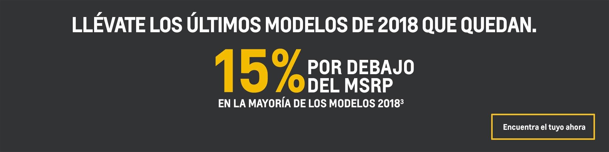 Chevrolet Camaro 2018: 15% por debajo del MSRP