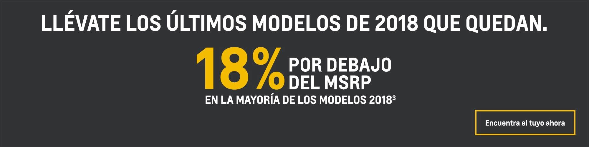 Chevrolet Sonic 2018: 18% por debajo del MSRP