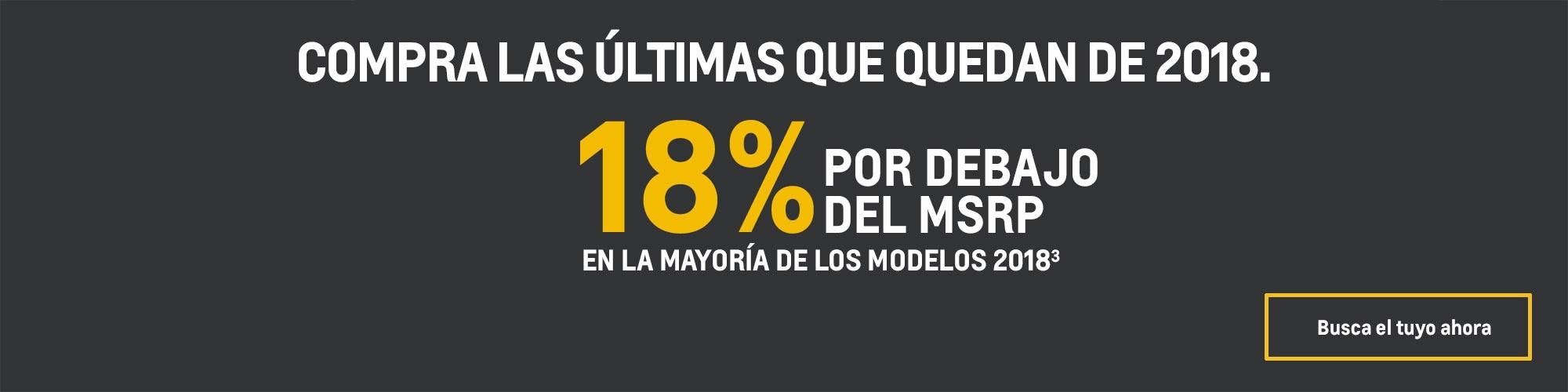 Volt 2018: 18% por debajo del MSRP