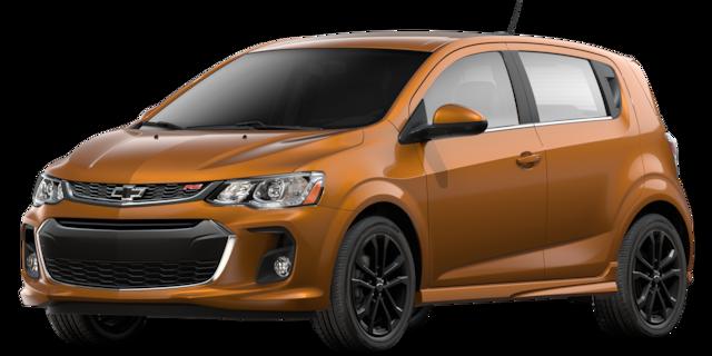 Auto compacto Chevrolet Sonic 2018
