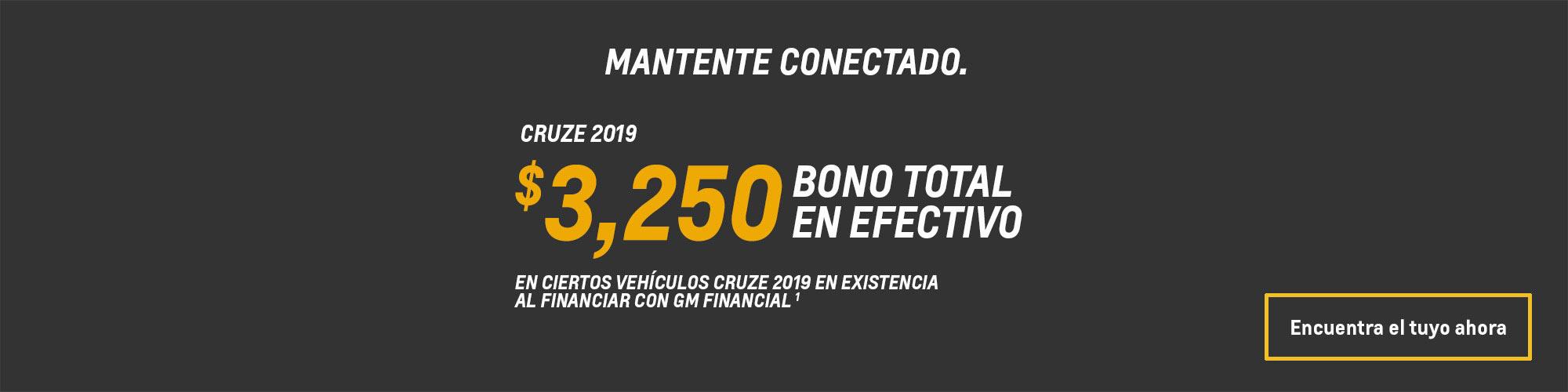 Ofertas en autos compactos Cruze 2019