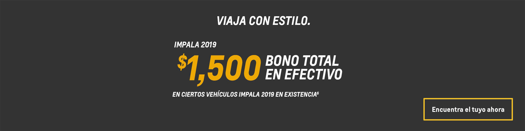 Ofertas en autos de tamaño completo Impala 2019